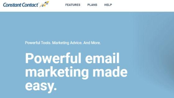 constant contact plataforma de email marketing